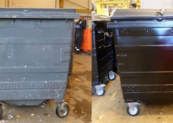 Trade Waste Before and After Refurbishment