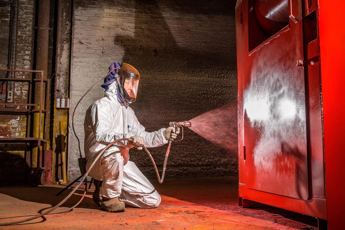 Spray Painting Banks