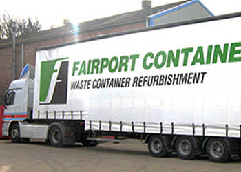 Fairport Containers Double Decker Curtain Sider Vehicle